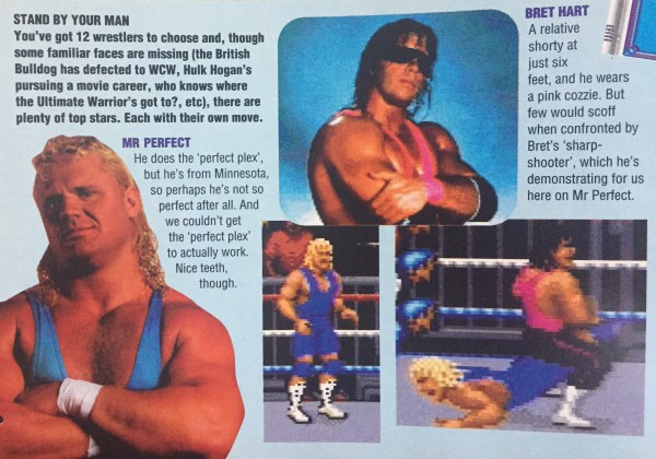 Want to play as Mr. Perfect? Better go with SNES then