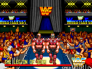 It captured the WWF perfectly
