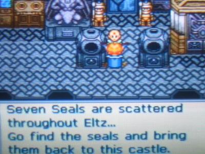 Lennus II: The Legend of the Seven Stars, er, Seals...