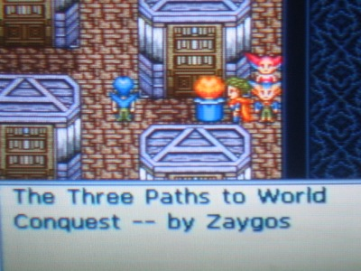 Zaygos was the villain in Paladin's Quest. Nice callback
