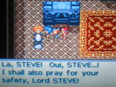 Lord Steve, eh? I can get used to that... [Please -Ed.]