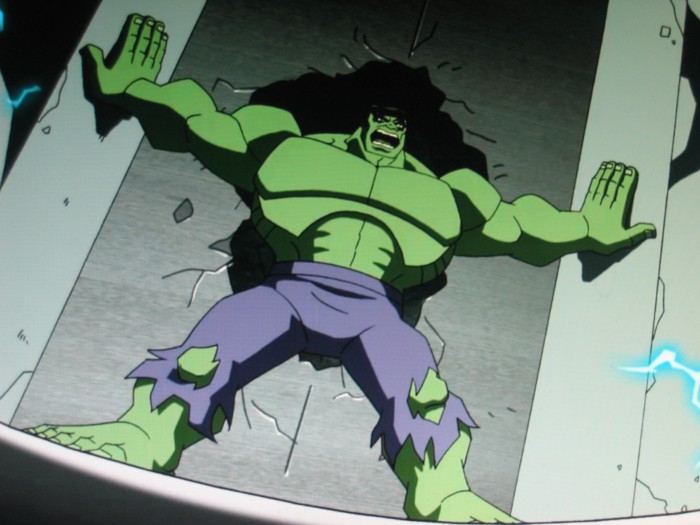 """HULK NO HOLD! HULK SMASH!"""