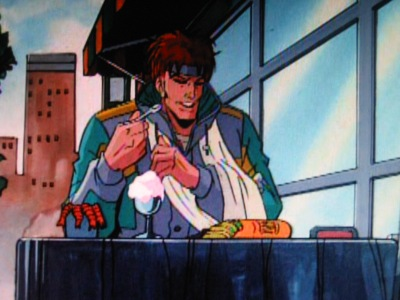 """Ah well. Looks like more food for Gambit."""