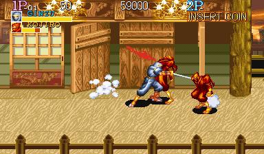 Ninja on ninja violence. Say it ain't so