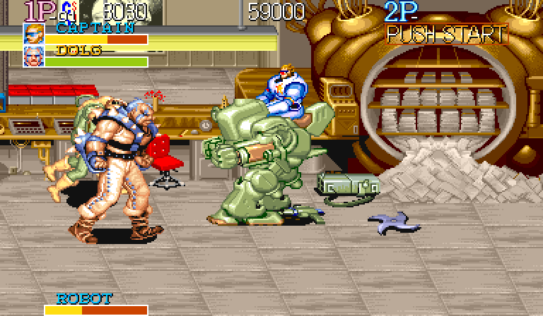 Sadly missing from the SNES version