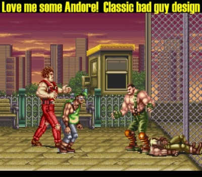 And he looks GREAT in his second 16-bit outing