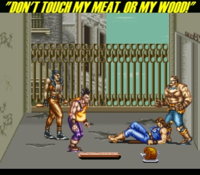But did you ever say that to Haggar, hmm, Carlos?