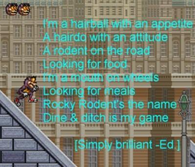 Tell em, Rocky!