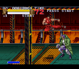 And Guy did return... in Final Fight 3