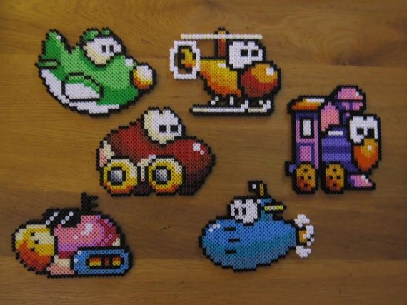 True, Yoshi's Island (October 1995) did it, too...