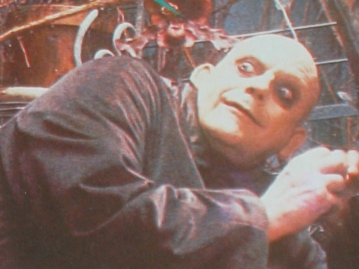 Looking for his brother, Fester