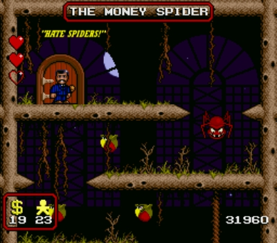 Don't like the title of this scene, Money SPIDER...