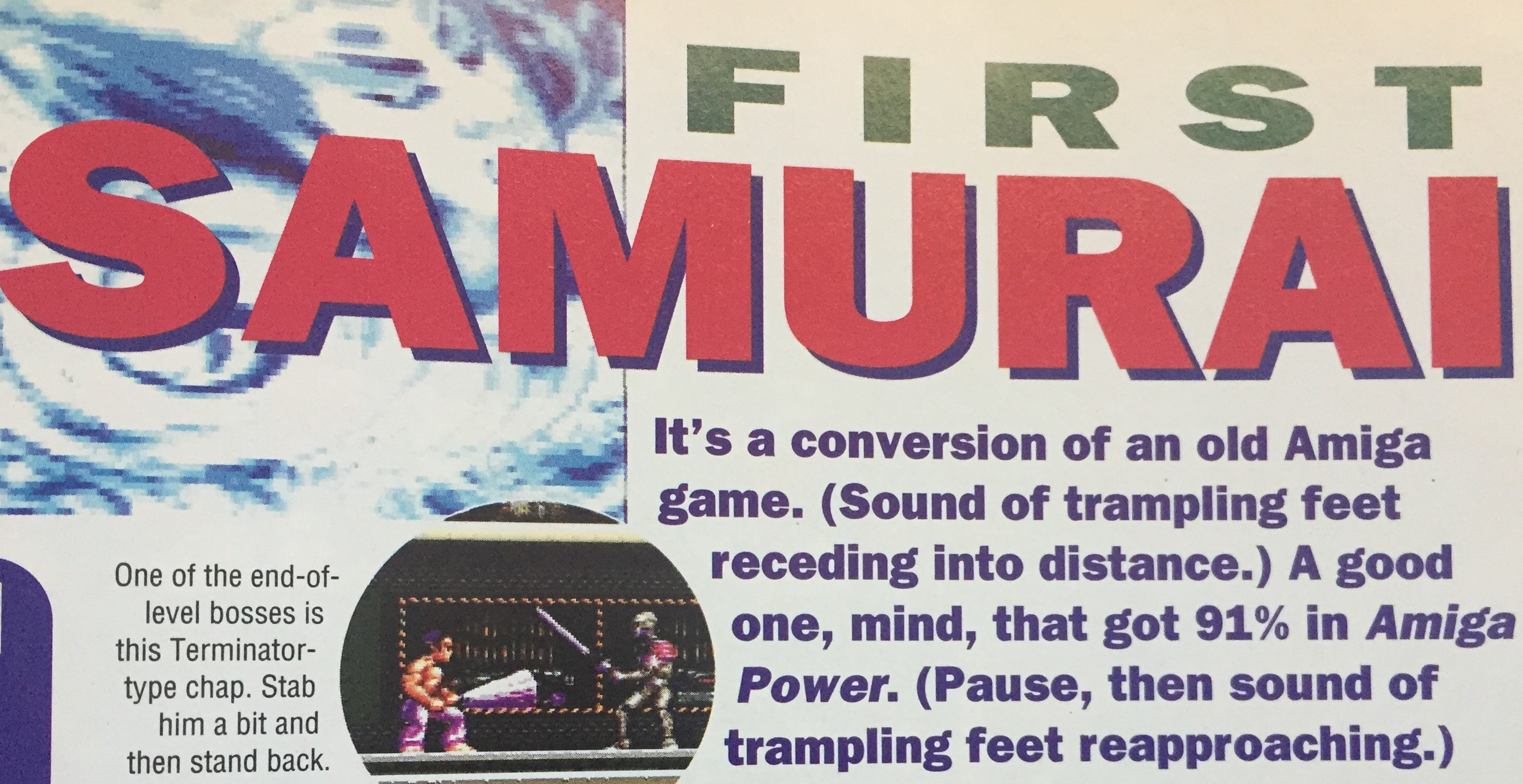 Amiga? No thanks. Oh what, 91%? I'm listening...