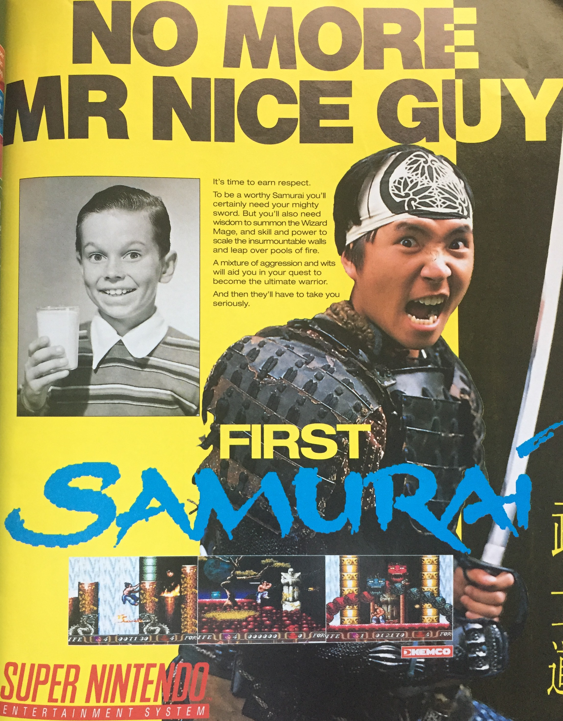 Not as bad as the European ad for First Samurai! Yikes