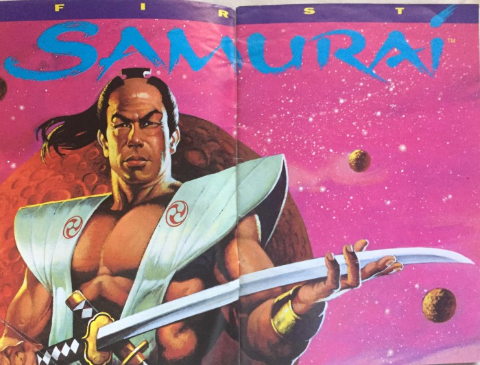 Whereas First Samurai went for a more rugged vet