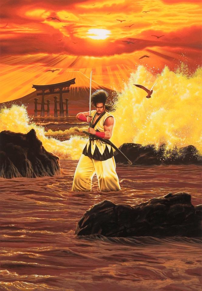 Samurai Shodown had a badass samurai, Haohmaru