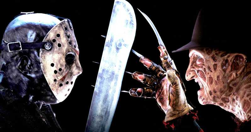And who said Jason and Freddy can't be friends??