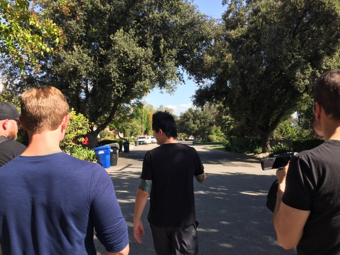 "Sean Clark takes us to the ""Garbage Day"" spot"