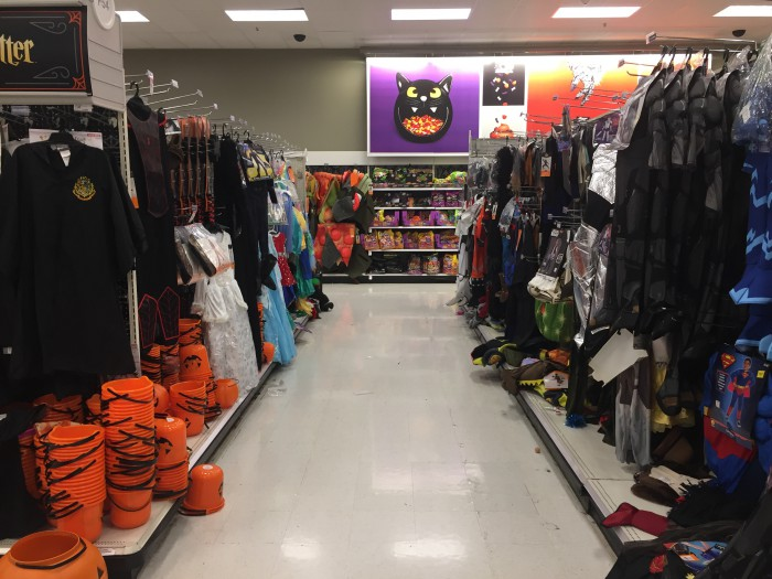 Went to Target to see their Halloween display