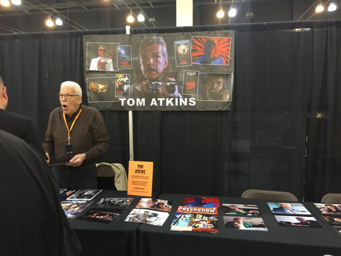 Tom Atkins from Halloween III was a big hit