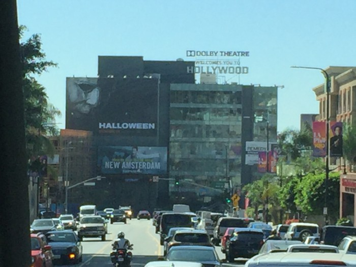 Halloween promotion was off the charts in LA!