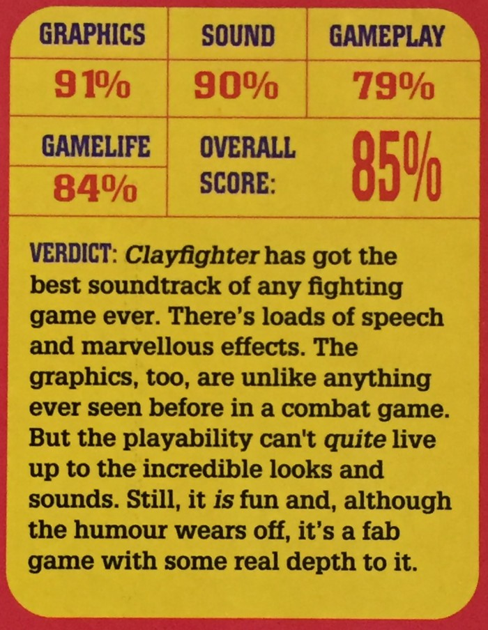 Even Super Play gave it a rather glowing review