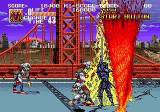 Arcade original obviously looks a lot better