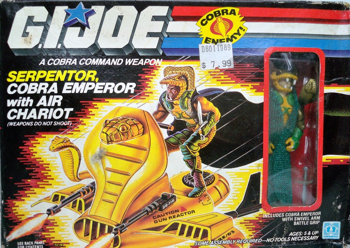 Shades of Serpentor, anyone?