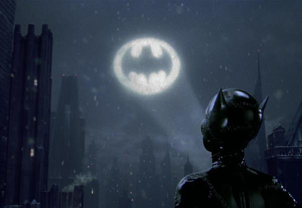 Dark is the knight...