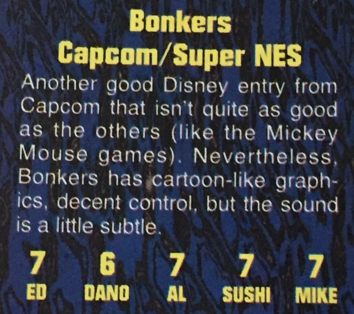 Definitely Capcom's least memorable Disney effort