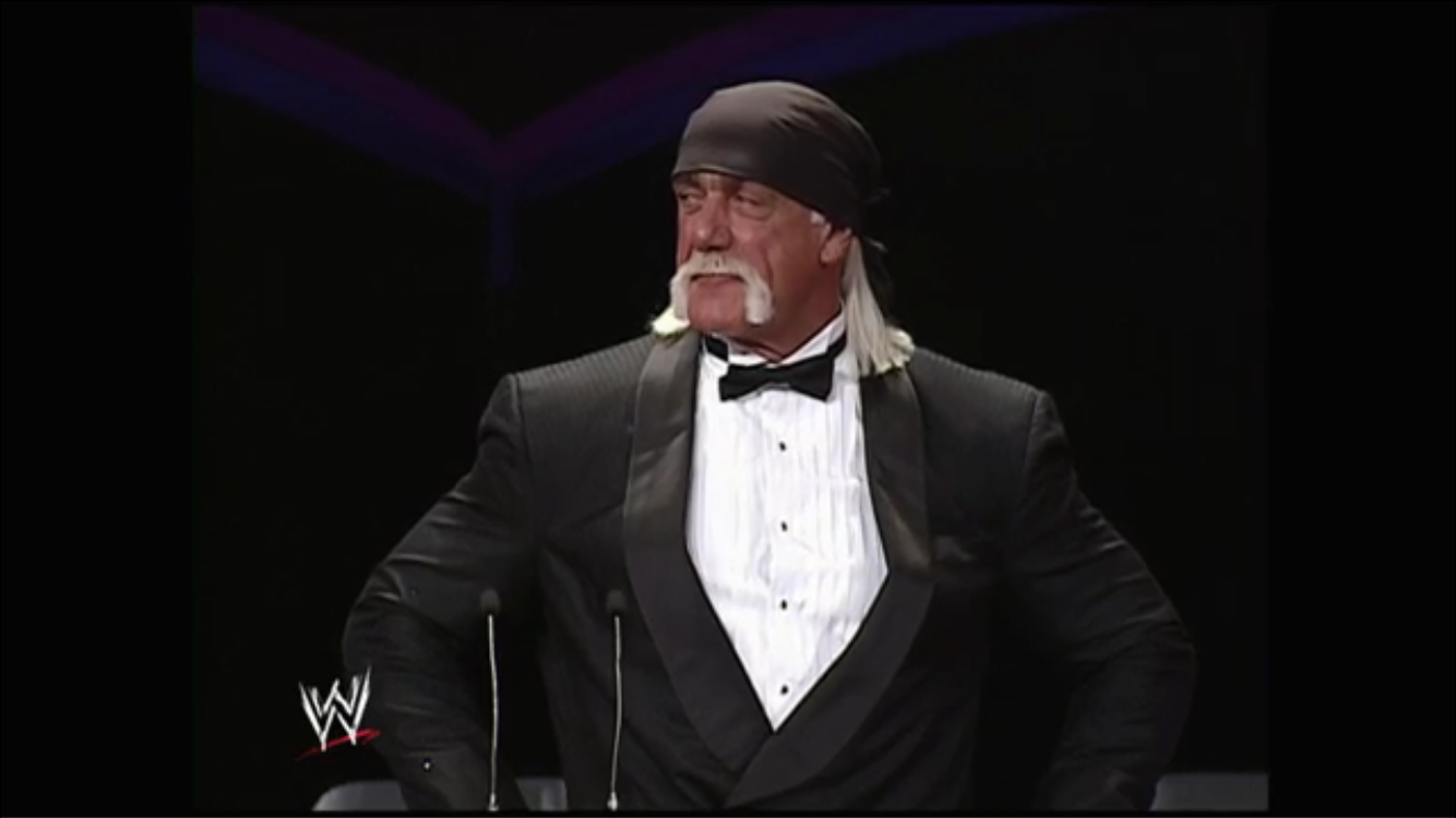 The Hulkster takes it all in