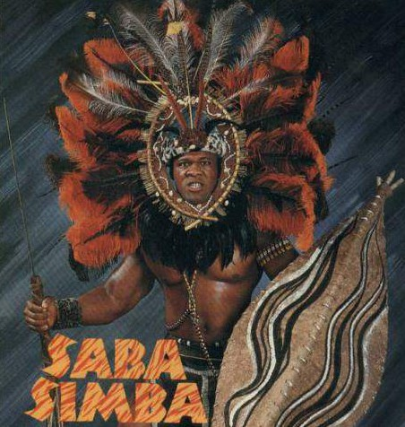 Tony had a short stint in late 1990 as Saba Simba