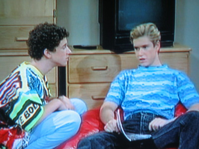 """Zack you gotta come back. We don't stand a chance without you."" ""Forget it Screech. I don't wanna waste my time"""