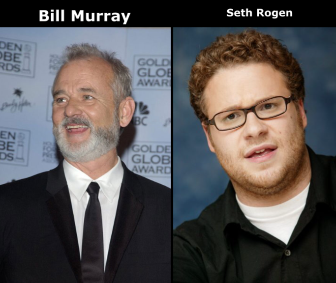 Classic Sean... a mishmash of Bill Murray and Seth Rogen
