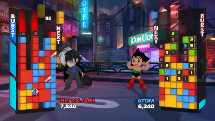 Crystal Crisis is a puzzle game akin to Puzzle Fighter