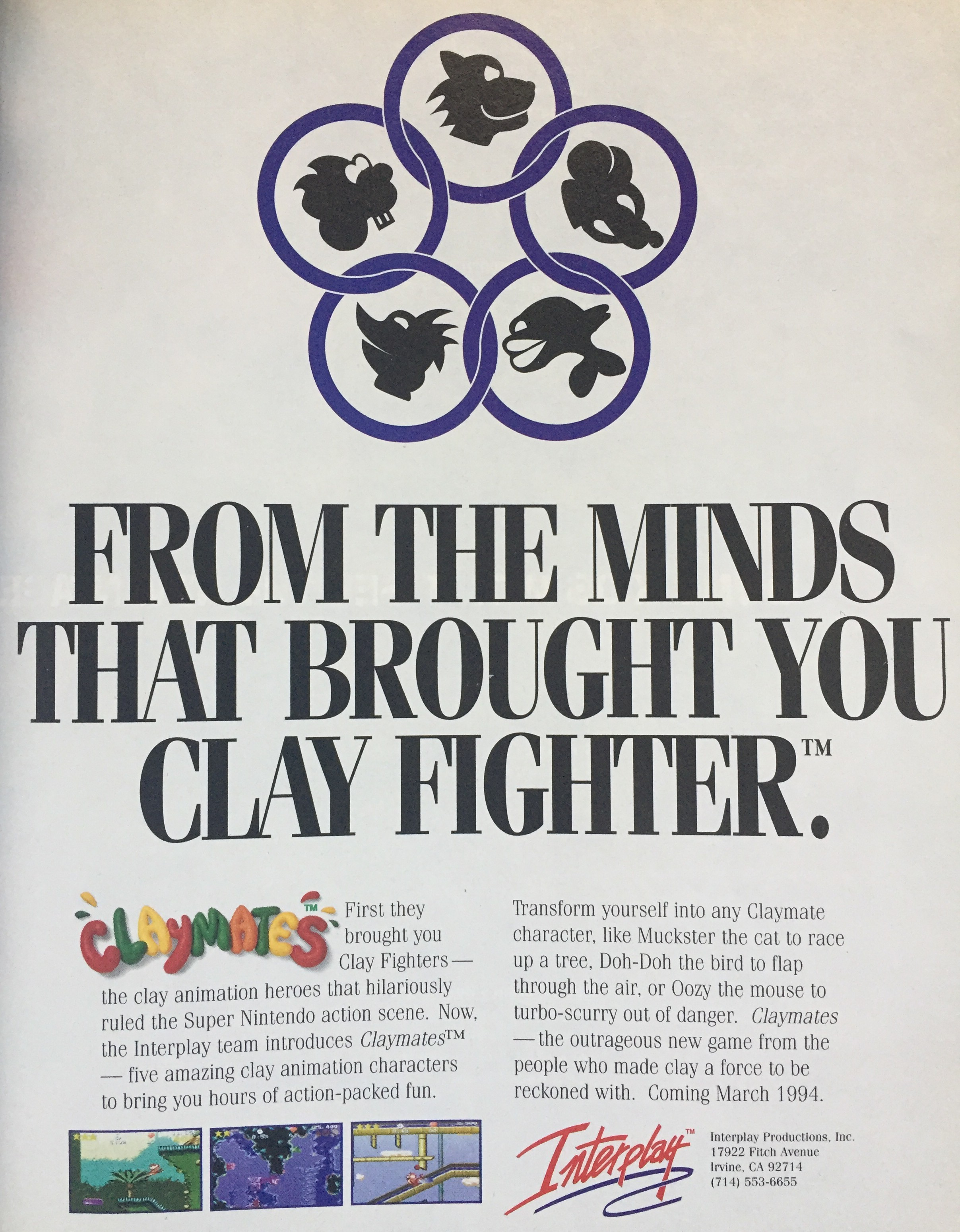 This ad cites March '94...