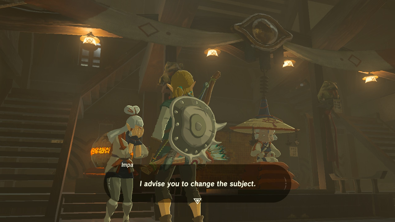 Impa with the save