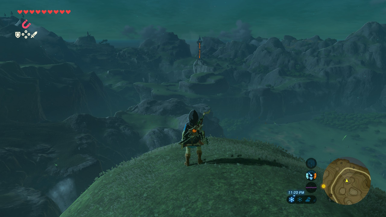 In the distance you spot a Tower that needs unlocking