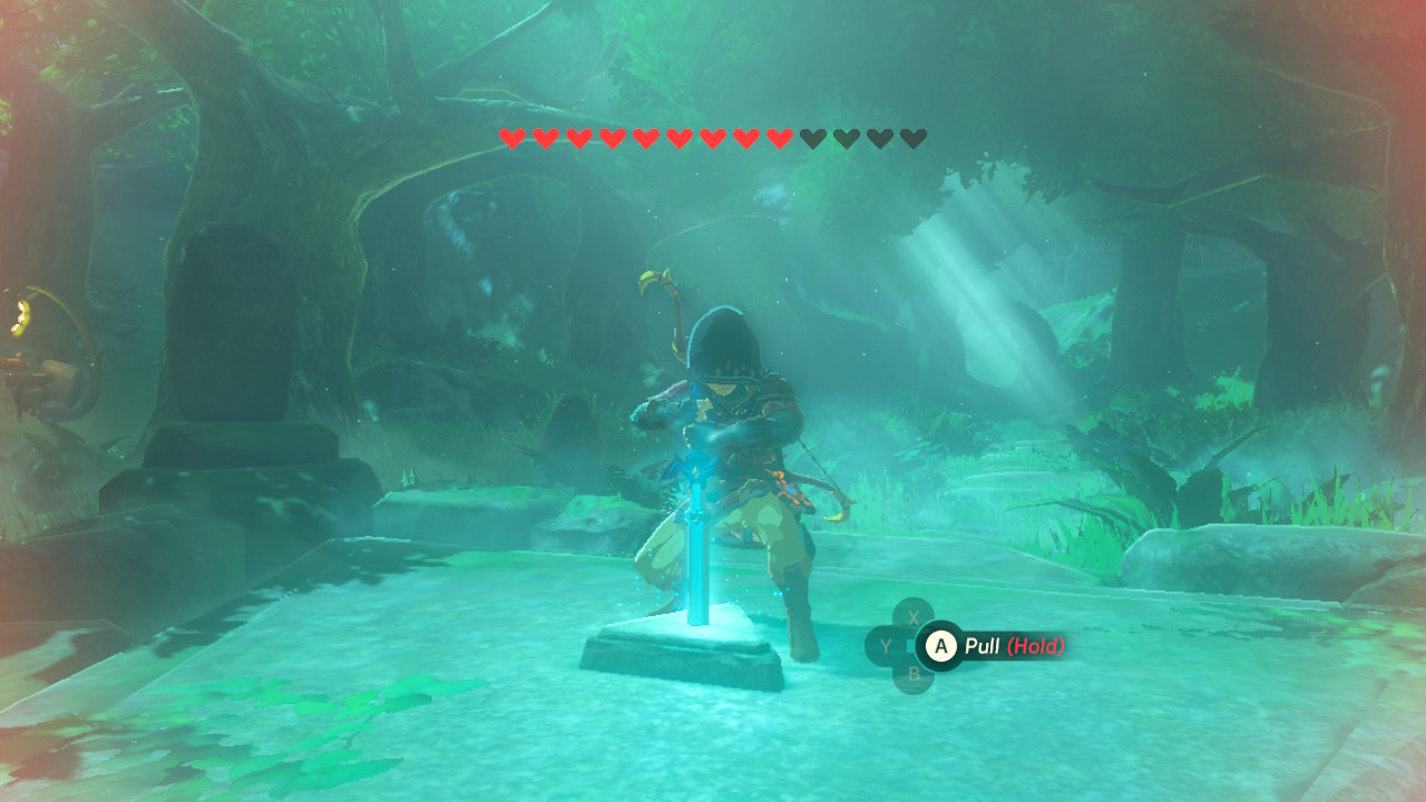 Enough BS. Time to pull out the Master Sword