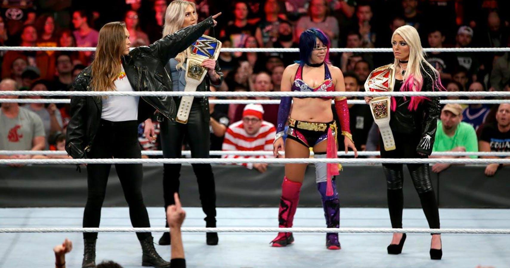 "Just like ""Rowdy"" Ronda Rousey"