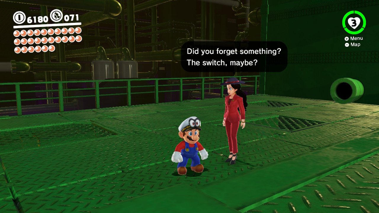 Oh God I hope not! I gotta play Super Mario Odyssey