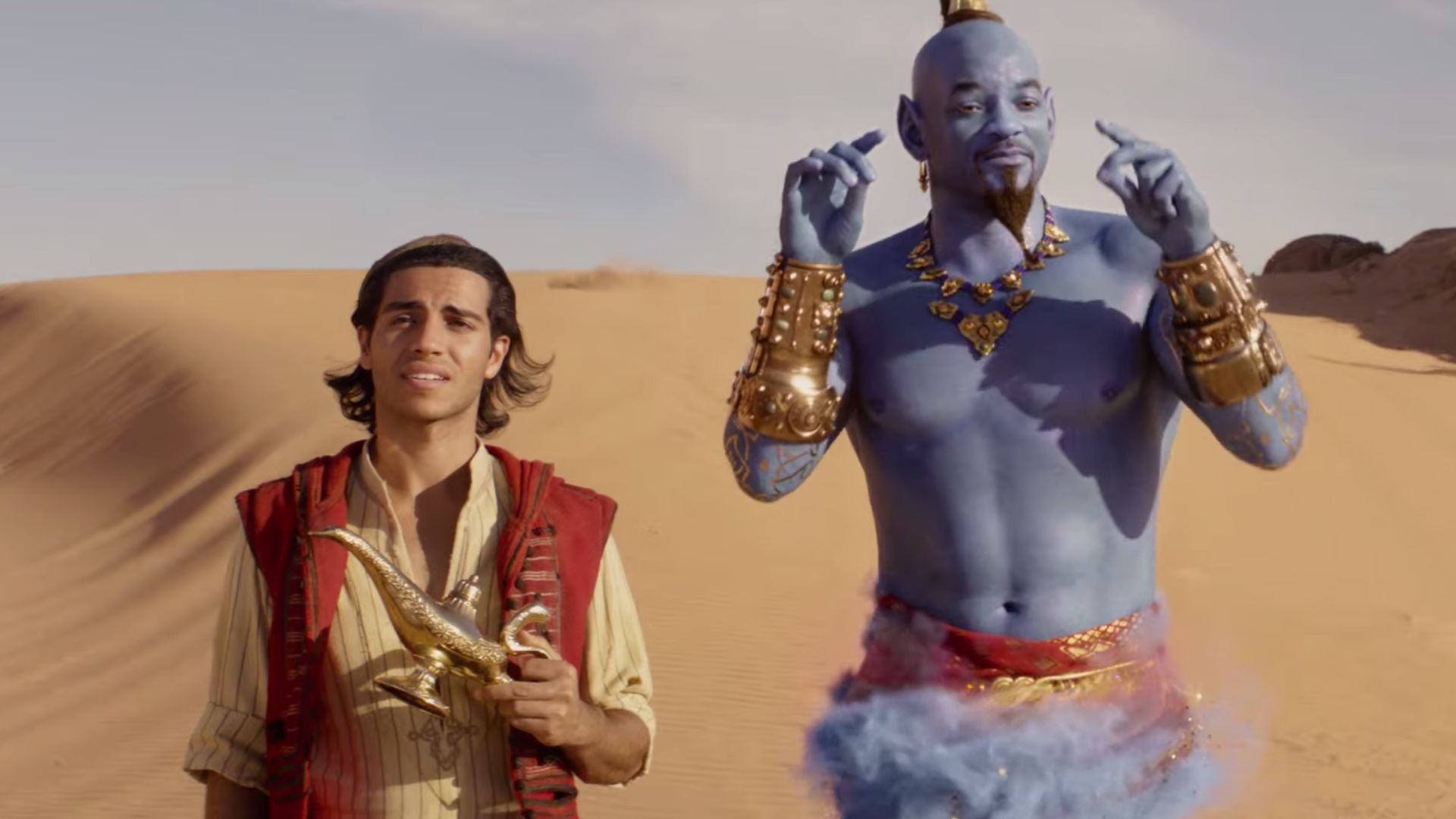 Will Smith as the Genie... it worked!