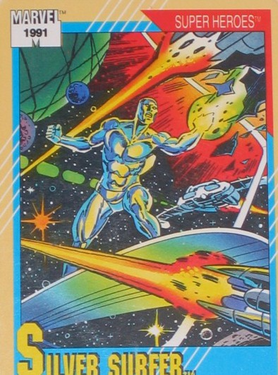 Remember Marvel '91 trading card series? Classic!