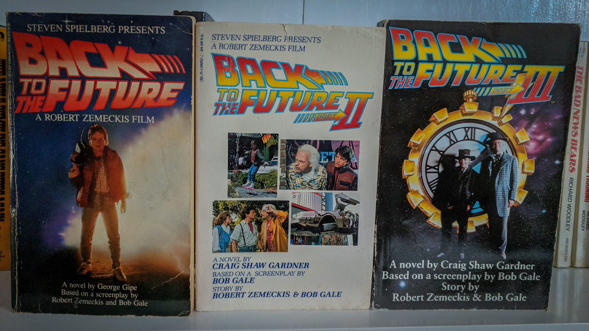 Can't wait to read the Back to the Future trilogy