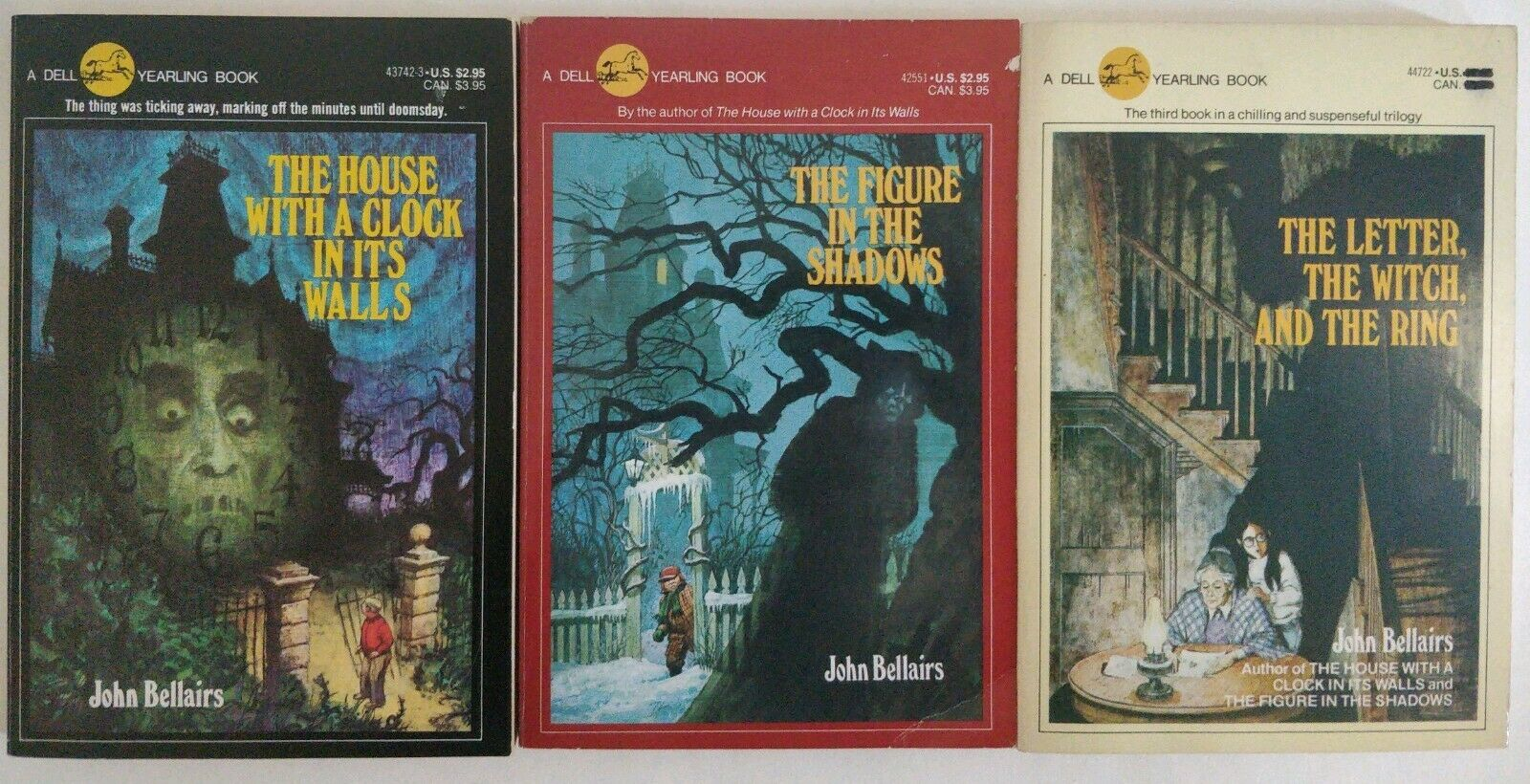 Or how about John Bellairs' books?
