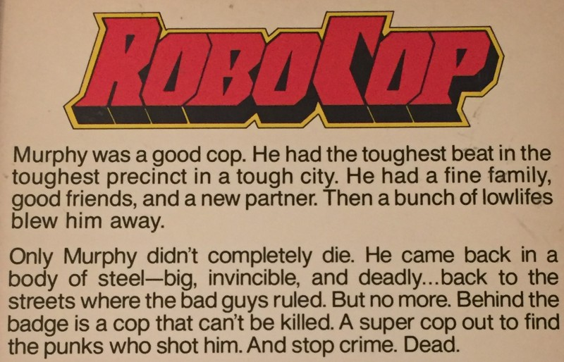 RoboCop Returns is currently in the making