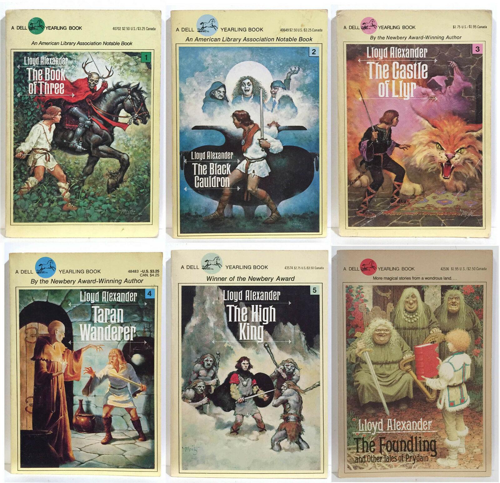 Remember Lloyd Alexander's Prydain series?