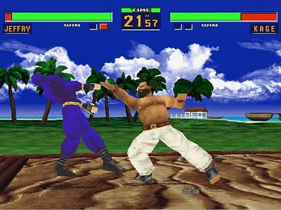 7. Virtua Fighter 2