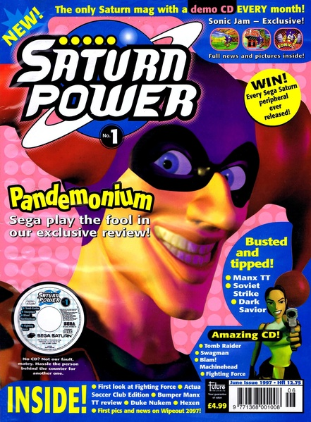 Saturn Power was a rival mag to SSM
