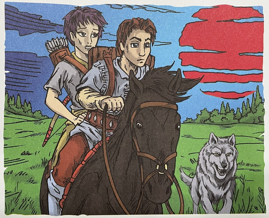 Tom and Elenna are aided by Storm and Silver